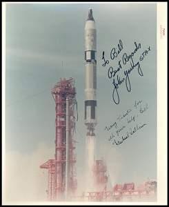 264: John Young & Michael Collins Autographs