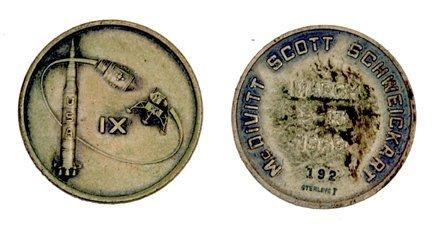 455: Flown Apollo 9 Robbins Medallion