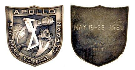 470: Flown Apollo 10 Robbins Medallion