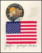 628 Apollo 13 Flown US Flag