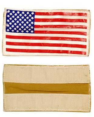 """Deke Slayton's Flown Spacesuit """"US Flag"""""""