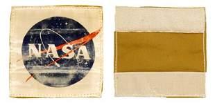 "Deke Slayton's Flown Spacesuit ""NASA"" Pa"