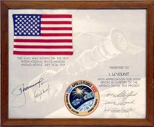 ASTP Flown U.S. Flag