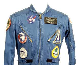 Slayton's ASTP Blue-Colored Flightsuit