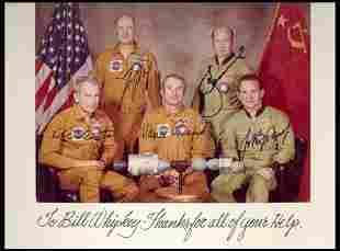 ASTP Crew Signed Photo