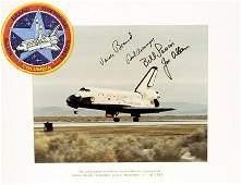 1019 Flown STS5 Crew Patch