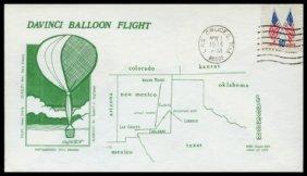 1974, Da Vinci Balloon Flight Cover