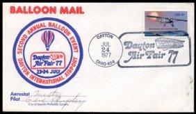 10: 1977, 2nd Annual Balloon FLOWN Cover