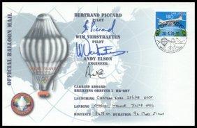 """11: 1998, """"Breitling Orbiter 2"""" FLOWN Cover"""
