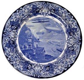 "14: 1909, ""The Aero Plate"" Decorative Plate"