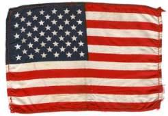 248 Gemini GT11 FLOWN US Flag from Gordons Spacesuit
