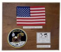 429 Apollo 11 FLOWN US Flag