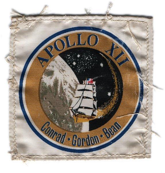 536C: Apollo 12 FLOWN Gordon Crew Patch