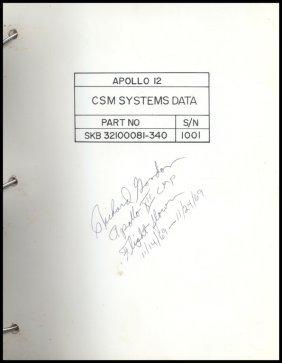 538: Apollo 12 FLOWN CSM Systems Data Checklist
