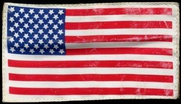 747: Deke Slayton ASTP Spacesuit FLOWN US Flag