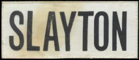 748: Deke Slayton's FLOWN ASTP Nametag