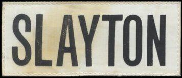 748: Deke Slayton's FLOWN ASTP Nametag