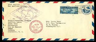 Graf Zeppelin Issue Complete used on two c