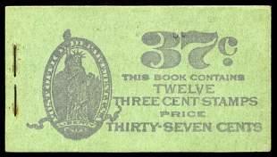 37c Violet, Sage Complete Unexploded Book