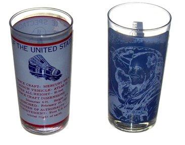 10079: Mercury MA6 John Glenn Commemorative Glasses