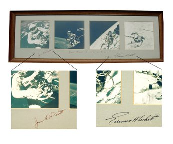 10151: Gemini GT4 JMcDivitt & White Autographs