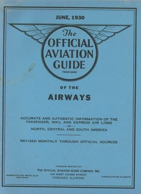 101002: 1930 Aviation Guide Listing All Airlines