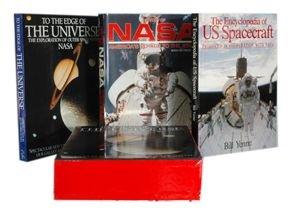 "101157: ""The Encyclopedia of US Spacecraft"" 3 Vol Set"