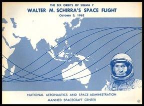 10100: Walter Schirra Mercury 8 Autograph