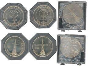 10101:  3 Mercury 8 Sigma 7 Wally Schirra Medallions