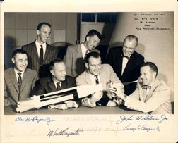 13: All Mercury 7 Astronaut Autographs