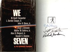 15: Mercury Schirra, Carpenter & Gordon Autographs