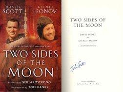 596: Apollo 15 David Scott Autograph