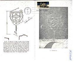 597: Apollo 15 David Scott and Oberth Autographs