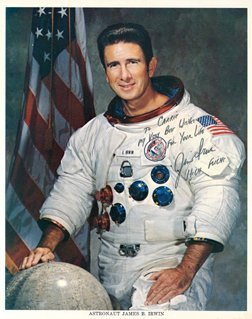 623: Apollo 15 James Irwin Autograph