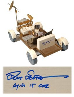 638: Apollo 15 Dave Scott's Lunar Rover Model