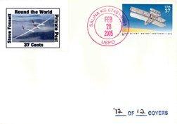 """1188: 2005, Steve Fossett """"Round the World"""" Cover"""