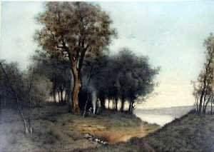 Rene Ligeron 1880-? (19th century French s