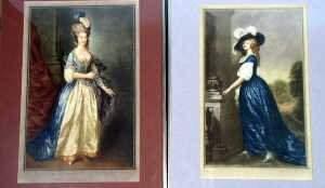 Herbert Sedloe after Gainsborough, Elegant