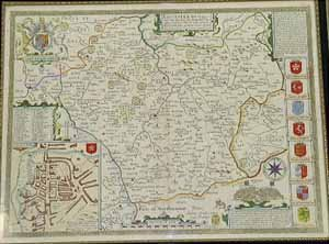 10: John Speede 'The County of Leicester' Map