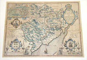 11: John Speede 'The County of Monmouth' Map,