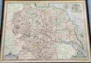 John Speede 'The County of Yorkshire' Map