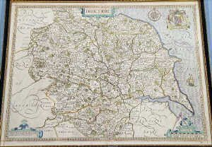 12: John Speede 'The County of Yorkshire' Map
