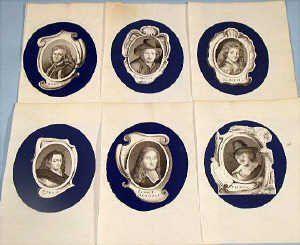 19th century European school 20 Miniature