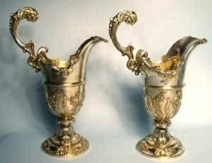 784: impressed pair of late 19 C/ Edward VII