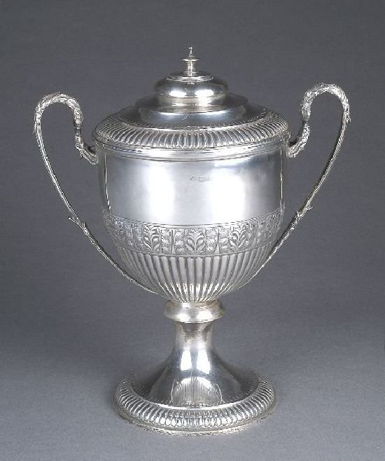 3008: A silver two handled trophy cup, Chester (marks o