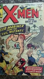 Vintage The X-men #6 - Nice Rare Book
