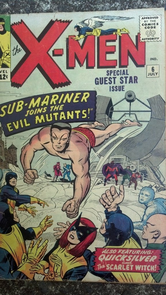 Vintage The X-men #6 - Nice Rare Book