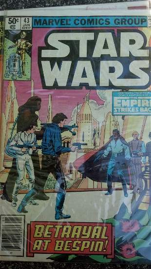 Star Wars - #43 .50Cent Comic. Very Early Book