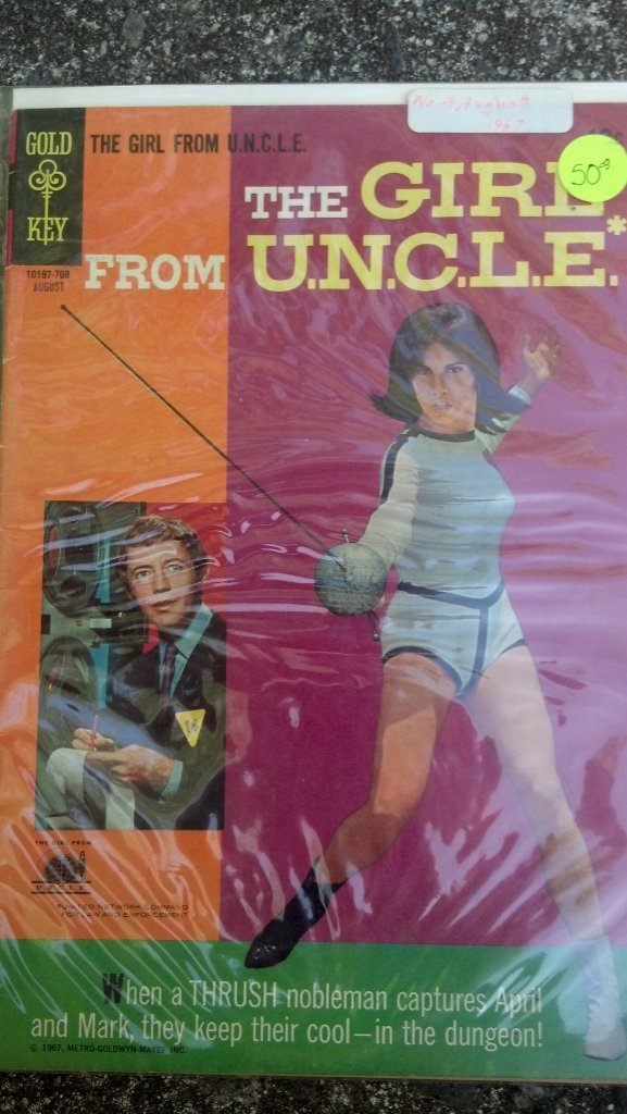 the Girl from U.N.C.L.E FIRST ISSUE