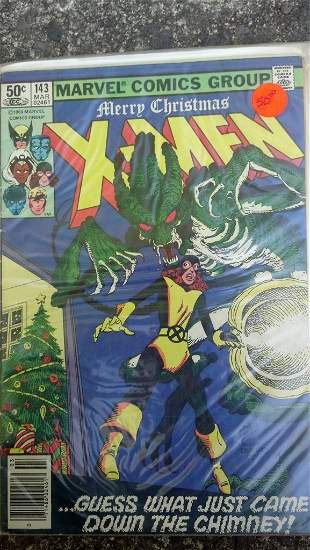 The X-men #143 Merry Christmas Issue